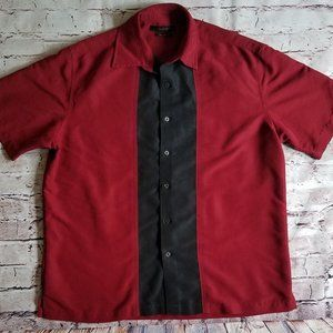 Men's Axist Casual Shirt  Black Size Large l